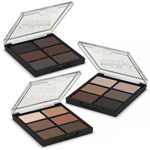 Paleta de Sombras Matte Top Make up Luisance L1036 - Kit com 24 Unidades
