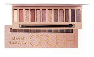 Paleta de Sombras com Espelho Crush Belle Angel - Mod Rosê
