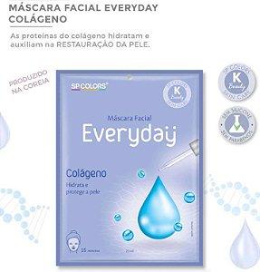 Máscara Facial Koreana SP Color Colágeno Proteção e Hidratação EV003
