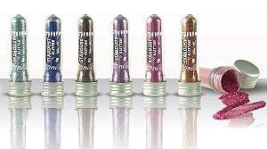 Glitter em Pó de Alto Brilho Stardust Queen - Kit com 6 Unidades