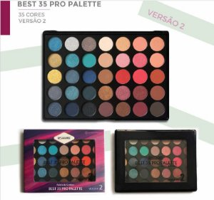 Paleta de Sombras Best 35 Versão 2 SP Color SP179