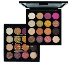 Paleta de Sombras 15 Cores The Honeymoon Ruby Rose HB1022