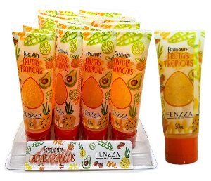 Esfoliante Frutas Tropicais Fenzza FZ37014 – Box 24 Unidades