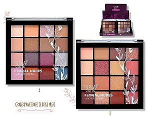 Paleta de Sombras Floral Nudes City Girl CG126 - Display com 12 Unidades