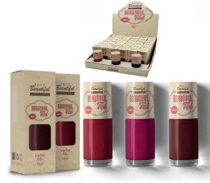 Lip Tint Gel Beautiful Tint Face Beautiful FB130D - Kit com 36 Unidades