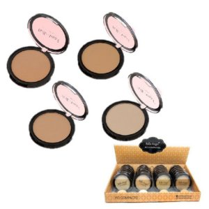 Pó Facial COmpacto Belle Angel T046 - Kit com 24 Unidades