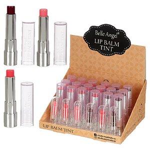 Lip Balm Tint HIdratação e Cor Belle Anhel T051 - Display com 24 Unid