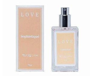 Perfume Love Sophistiqué - Display com 21 Unidades e Prov