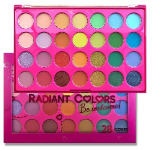 Paleta de Sombras Radiant Color Be Welcome CG204 15 x 23 cm
