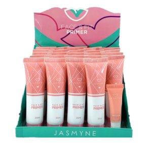 Novo Primer Facial FAce & Fit Jasmyne JS01032 - Display com 24 Unid e Prov