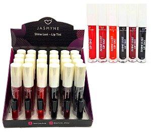 Lip Tint Shine Lust Jasmyne JS01029 -  24 Unidades + Amostras