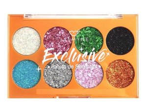 Paleta de Sombras Glitter Exclusive Jasmyne JS01058 A