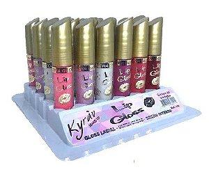 Lip Gloss Labial Kyrav 702 - Box c/ 24 unid