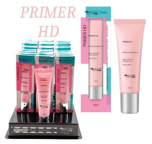 Primer Facial HD Max love - Display com 30 Unidades e Prov