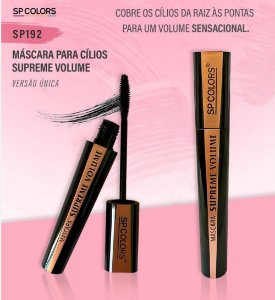 Máscara de Cílios supreme Volume SP Colors SP192