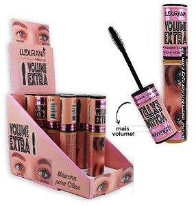 Máscara de Cílios Volume Extra Ludurana M00123 - Display com 12 Unid