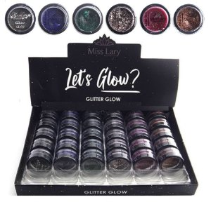 Glitter Glow Miss Lary ML506 - Display com 36 Unid