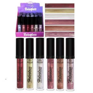 Hologloss Gloss Labial Holográfico Miss Lary ML602 - Display com 24 undiades