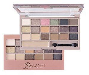 Paleta de Sombras Be Sweet HB9923 - Kit C/6Unid
