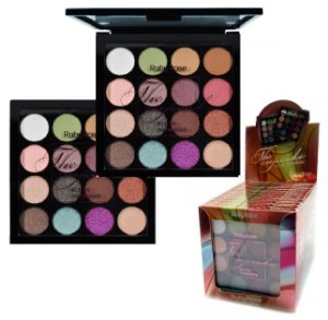 Paleta de Sombras + Primer The Cupcake Ruby Rose HB1020 - Kit C/ 12Unid