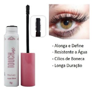 Rimel Mascara de Cilios Alonga e Define Touch Miss Lary ML569