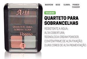 Quarteto para sobrancelhas com Fixador Asti