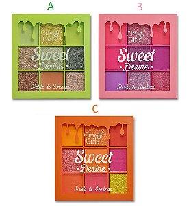 Paleta de Sombras Sweet Desire CG180 - Escolha a Cor