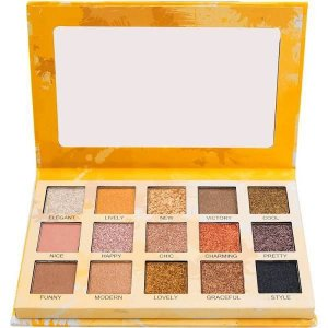 Paleta de Sombras Spotlight Gold Luisance L2037 - Display C/ 12 unid