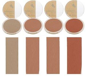 Po Facial Compacto Peles Morenas Perfect Skin Luisance L3102-B ( Kit  C/ 4 unid )