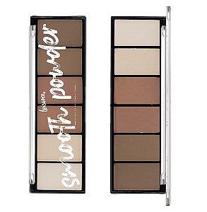Paleta de Po de Contorno Smooth Luisance Facial L3120 - Kit C / 12 unidades