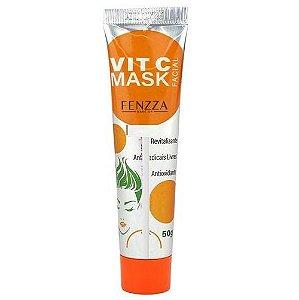 Máscara Facial Vitamina C FENZZA FZ38023 Bisnaga