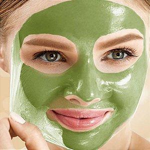 Máscara Facial Pepino Anti olheiras Green Mask Fenzza FZ38022 Bisnaga