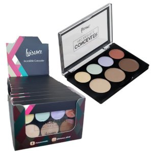 Paleta de Corretivo Incredible Luisance L3099 - Display C/ 12 unid