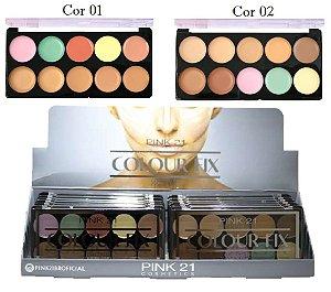Paleta de Corretivo Colour Fix Pink 21 CS2782 - Display C/ 12 unid