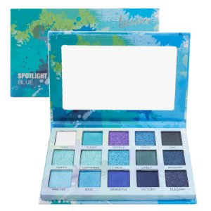 Paleta de Sombras Spotlight Luisance L2037 Blue - Display C/ 12 unid