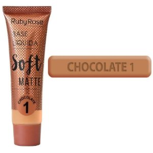 Base Soft Matte Ruby Rose ( Chocolate 1 ) - Unitario