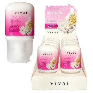 Loção Hidratante para Mãos Antioxidante Vivai 5030 - Display C/12 Unid