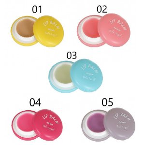LIP BALM MACARON BELLE ANGEL T065 - Kit C/ 05 Unidades
