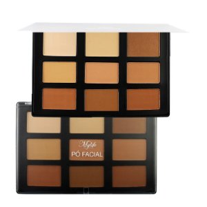 Mylife - Paleta de Contorno Facial 9 Cores  MY8277 - Kit C/ 6 unid