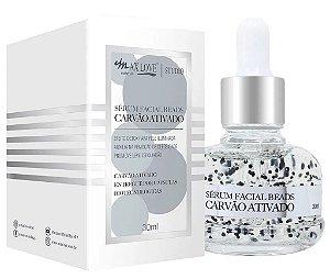 Novo Serum Facial Beads Carvão Ativado Max Love