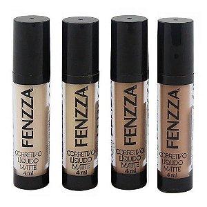 Fenzza - Corretivo Líquido Facial CL41 - Kit c/ 4 Unid