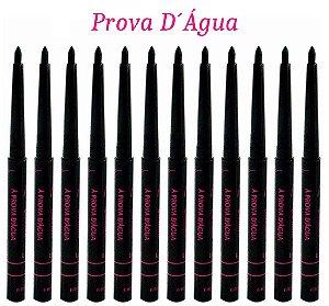 Lápis Retrátil delineador de Olhos Prova Dagua Bella Femme BF1004 ( 12 unidades )