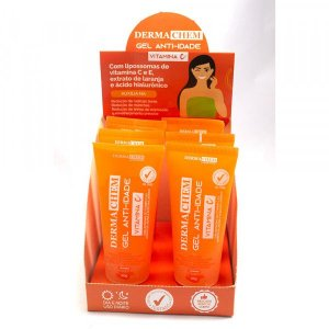 Gel Anti-idade Vitamina C Dermachem Laboratory - Display com 6 unidades