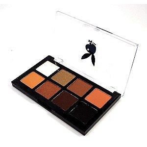 Paleta de Sombras 8 Cores Playboy HB94554-A