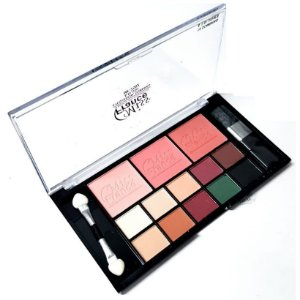 Kit de Maquiagem 10 Sombra + 3 Blush Miss France MF7502 - Cor 02