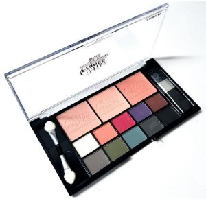Kit de Maquiagem 10 Sombra + 3 Blush Miss France MF7502 - Cor 03