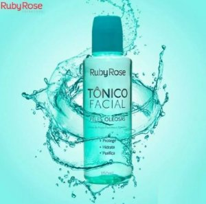 Tônico Facial Peles Oleosas Ruby Rose HB330 - Kit C/12 Unid