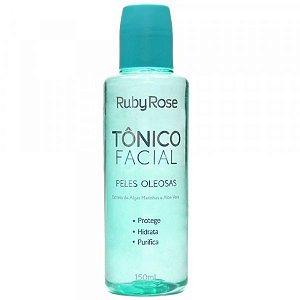 Tônico Facial Peles Oleosas Ruby Rose HB330 - Unitario