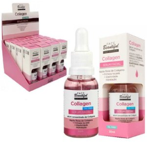 Serum Facial Collagen Concentrado de Colágeno Face Beautiful FB177 - Display C/16 Unid