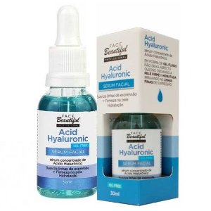 Sérum Facial Acid Hyaluronic Face Beautiful - Unitario